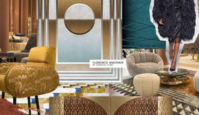 deco revival Interior Design Trend For 2019: Deco Revival Interior Design Trend For 2019 Deco Revival 409x237