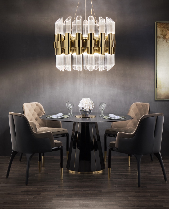 black and gold Color Trends 2019: Introduce Black And Gold Into Your Home Decor Color Trends 2019 Introduce Black And Gold Into Your Home Decor 19