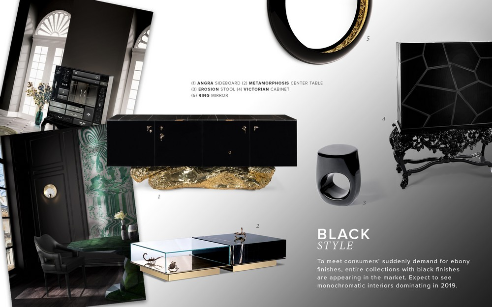 black and gold Color Trends 2019: Introduce Black And Gold Into Your Home Decor Color Trends 2019 Introduce Black And Gold Into Your Home Decor 2