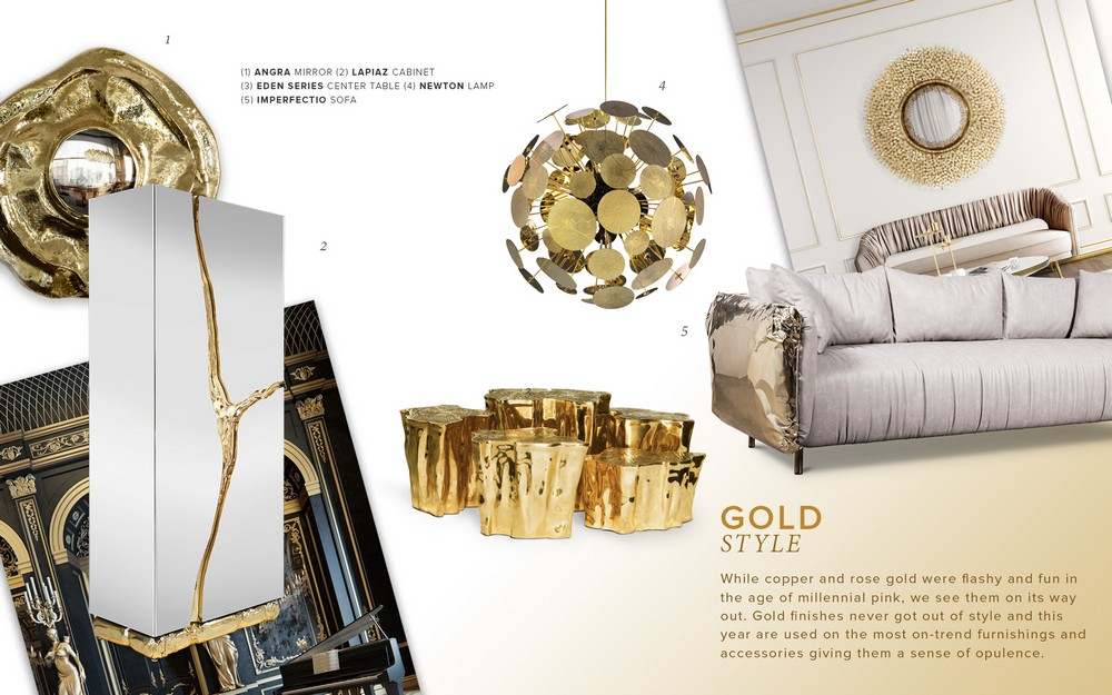 black and gold Color Trends 2019: Introduce Black And Gold Into Your Home Decor Color Trends 2019 Introduce Black And Gold Into Your Home Decor 3