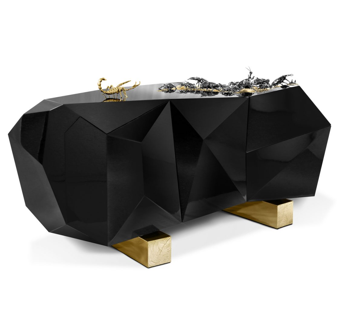 black and gold Color Trends 2019: Introduce Black And Gold Into Your Home Decor Color Trends 2019 Introduce Black And Gold Into Your Home Decor 7