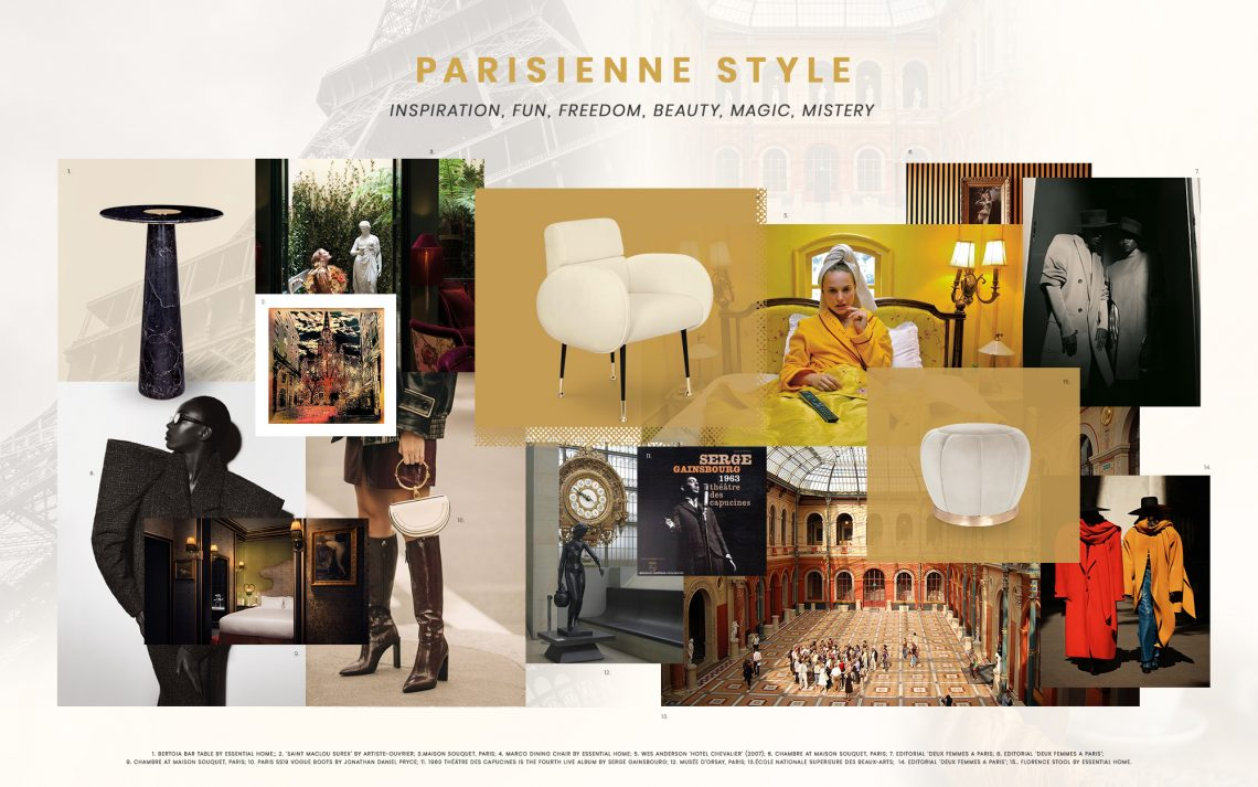 French Interior Design: The Parisienne Style parisienne style French Interior Design: The Parisienne Style French Interior Design The Parisienne Style 1