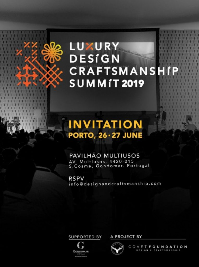 Get Ready For Luxury Design & Craftsmanship Summit 2019 summit 2019 Get Ready For Luxury Design & Craftsmanship Summit 2019 Get Ready For Luxury Design Craftsmanship Summit 2019 1