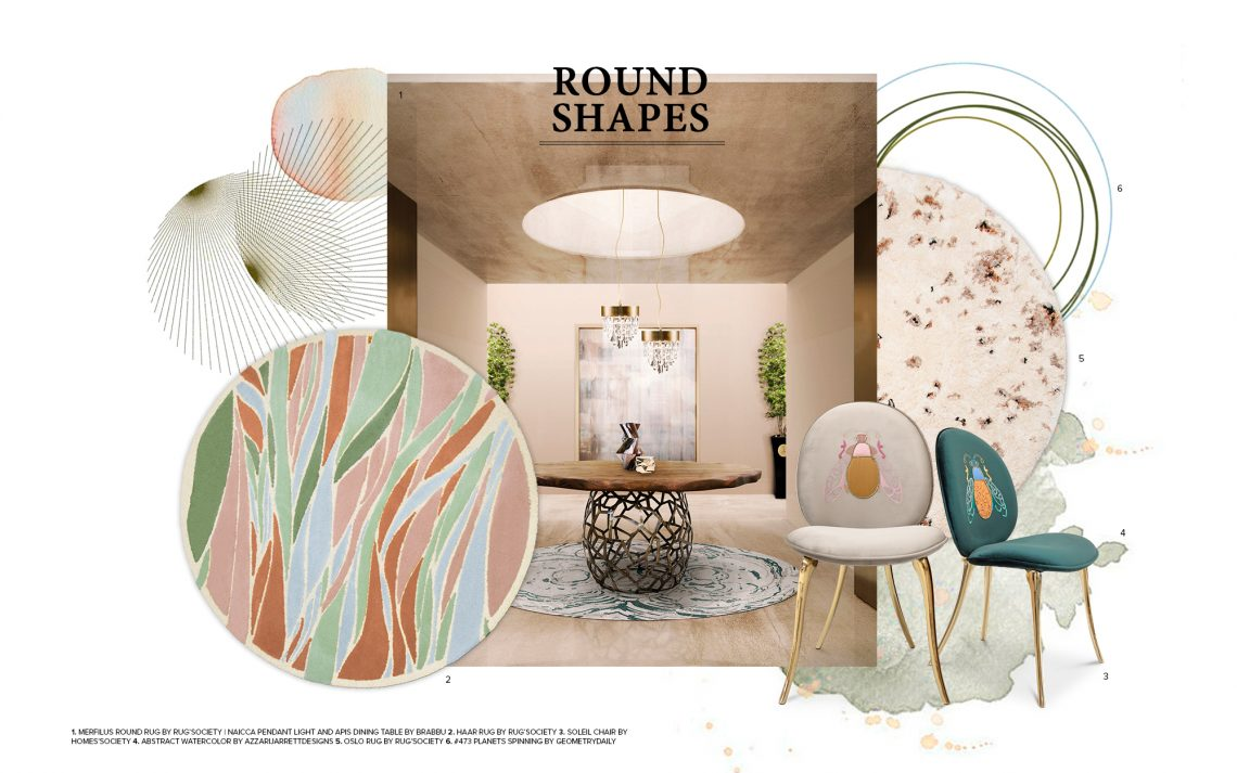 How To Decor Your Home With Round Shapes round shapes How To Decor Your Home With Round Shapes How To Decor Your Home With Round Shapes 1