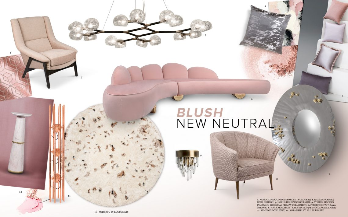Interior Design Trends 2019: Blush Is The New Neutral  blush Interior Design Trends 2019: Blush Is The New Neutral  Interior Design Trends 2019 Blush Is The New Neutral 1