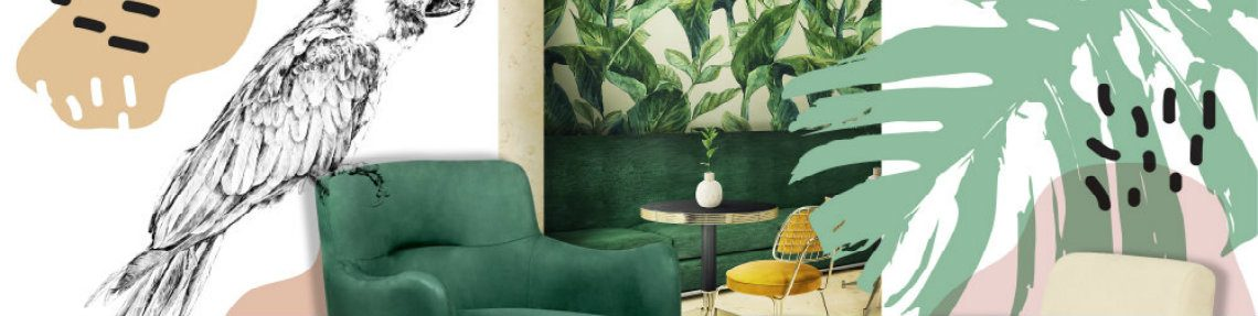 Sping Summer Interior Design Inspirations: Mid-Century Furniture