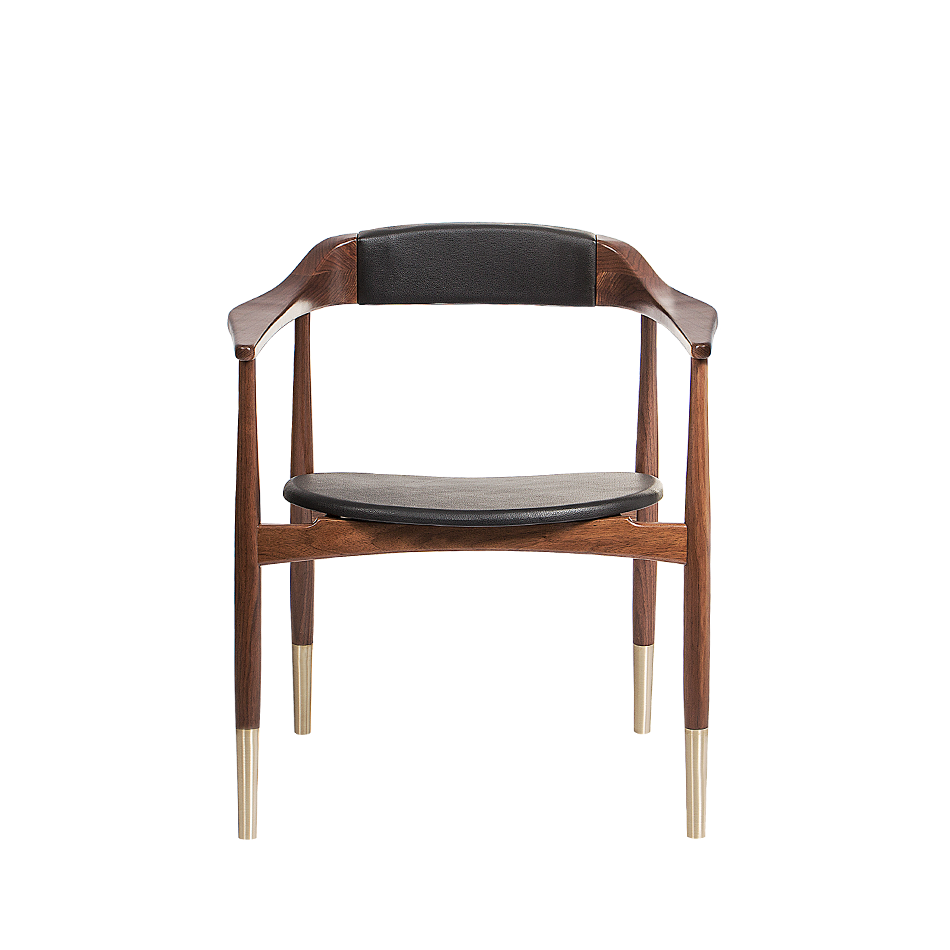 mid-century 2019 Color Trends: Mid-Century Furniture  perry dining chair 1