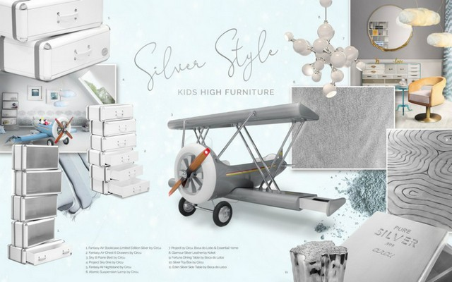 Silver Style: Kids High Furniture  silver style Silver Style: Kids High Furniture  Silver Style Kids High Furniture 1