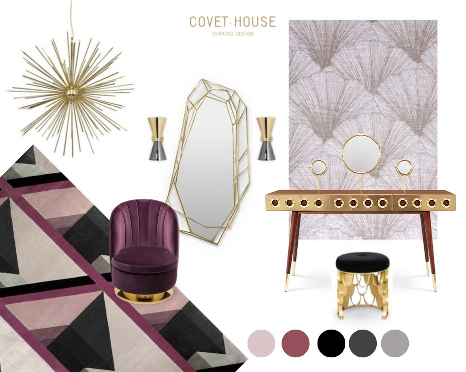 Cassis Color: The Design Trend Your Bedroom Needs cassis color Cassis Color: The Design Trend Your Bedroom Needs cassis color design trend bedroom needs 1