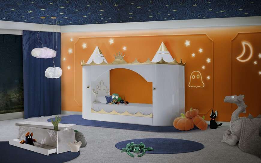 Kids Bedroom Ideas: Get Ready For Halloween With The Best Luxury Pieces kids bedroom ideas Kids Bedroom Ideas: Get Ready For Halloween With The Best Luxury Pieces kids bedroom ideas ready halloween best luxury pieces 2