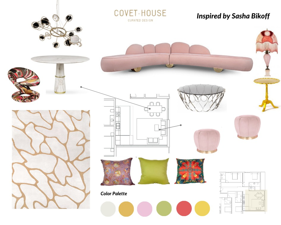 sasha bikoff Admire This Bright Palette Inspired By Sasha Bikoff's Style admire bright palette inspired sasha bikoffs style 1