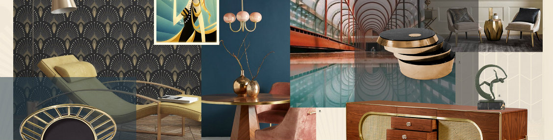 art deco Art Deco: The Mid-Century Trend Your Living Room Needs art deco the mid century trend living room needs