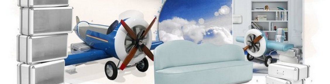 How To Bring The Aviation Theme Into Your Kids' Bedroom Design