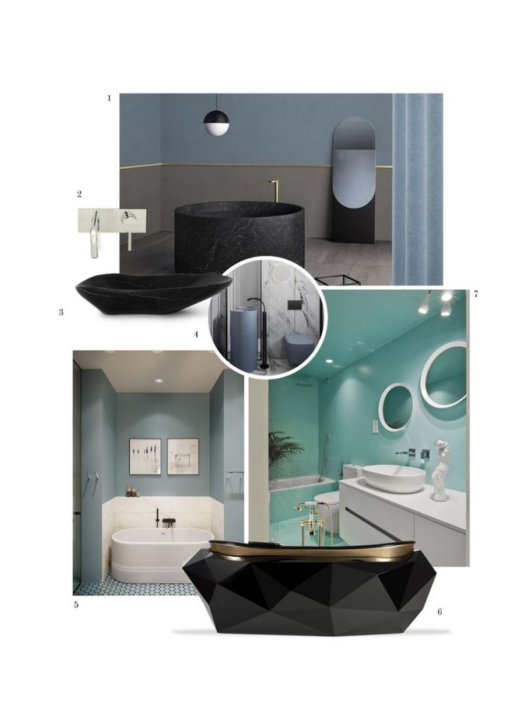 color trends 2020 Color Trends 2020: Luxury Bathroom Ideas color trends 2020 luxury bathroom ideas 9