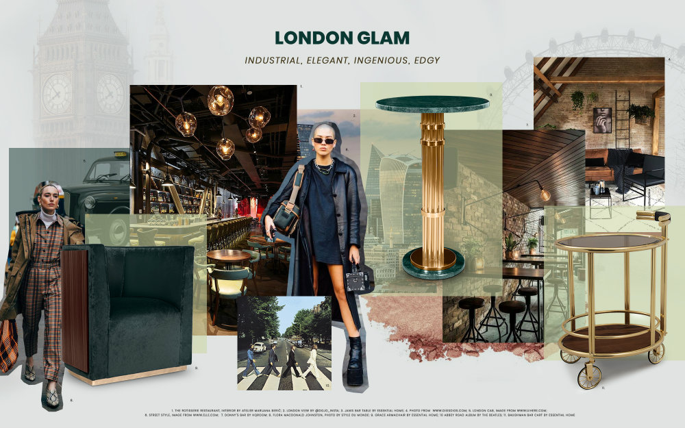 London Glam: Industrial, Elegant And Edgy london glam London Glam: Industrial, Elegant And Edgy london glam industrial elegant edgy 1