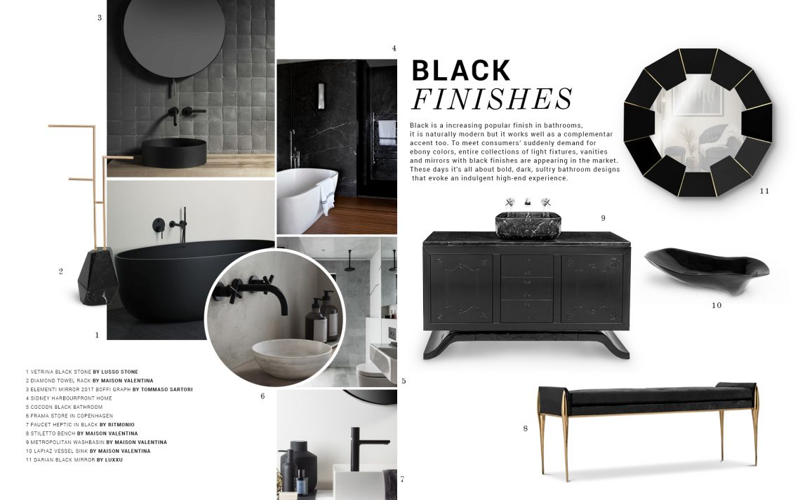 Black Finishes: The Design Trend Your Luxurious Bathroom Needs black finishes Black Finishes: The Design Trend Your Luxurious Bathroom Needs black finishes design trend luxurious bathroom needs 1