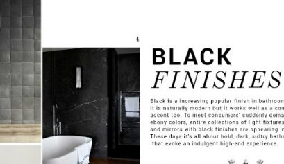 black finishes Black Finishes: The Design Trend Your Luxurious Bathroom Needs black finishes design trend luxurious bathroom needs 409x237