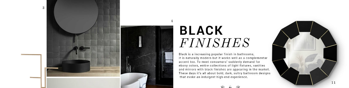black finishes Black Finishes: The Design Trend Your Luxurious Bathroom Needs black finishes design trend luxurious bathroom needs