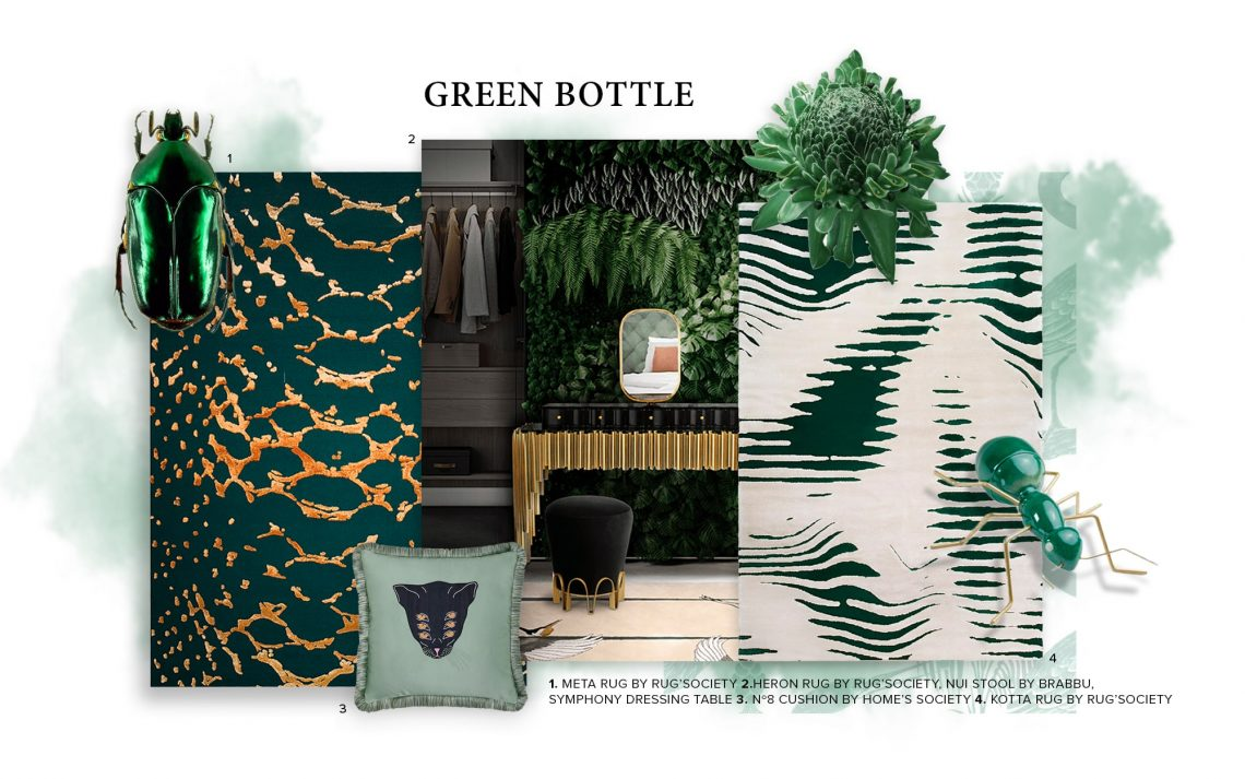 Bottle Green: How To Bring Nature Into Your Home Decor  bottle green Bottle Green: How To Bring Nature Into Your Home Decor  bottle green bring nature home decor 1