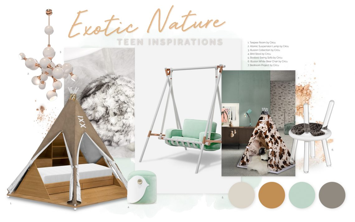 How To Bring Exotic Nature Into Your Kids' Bedroom Design exotic nature How To Bring Exotic Nature Into Your Kids' Bedroom Design bring exotic nature kids bedroom design 1