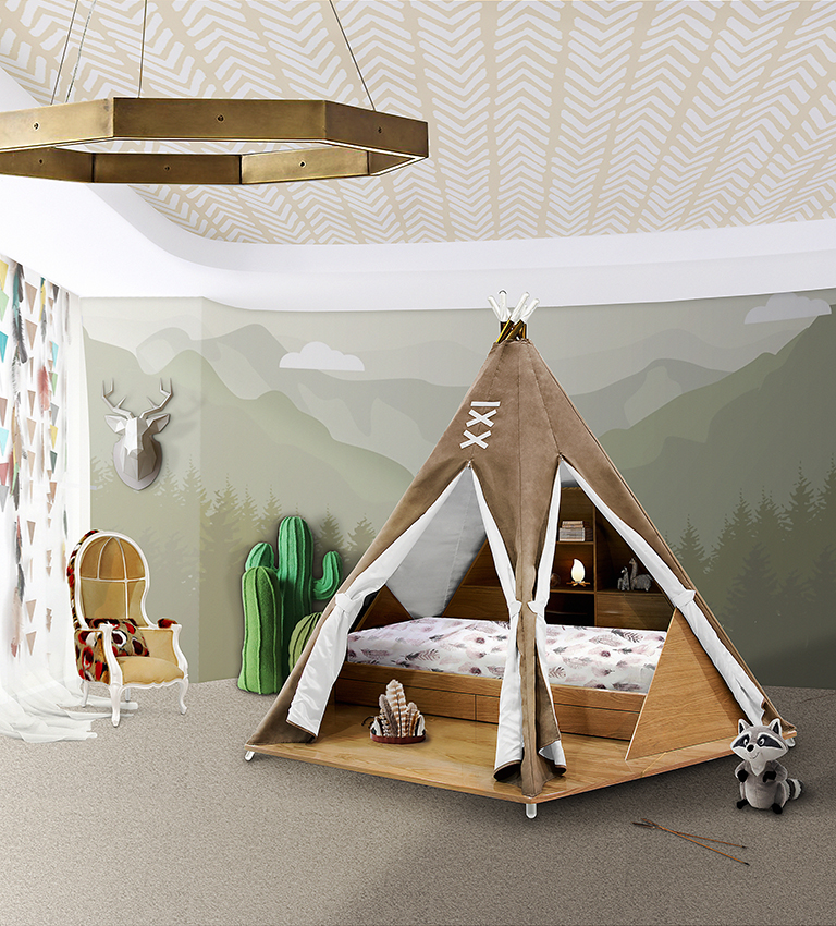 How To Bring Exotic Nature Into Your Kids' Bedroom Design exotic nature How To Bring Exotic Nature Into Your Kids' Bedroom Design bring exotic nature kids bedroom design 2