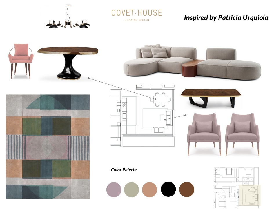 Elevate Your Living Room With This Moodboard Inspired By Patricia Urquiola's Style  patricia urquiola Elevate Your Living Room With This Moodboard Inspired By Patricia Urquiola's Style  elevate living room moodboard inspired patricia urquiolas style 1