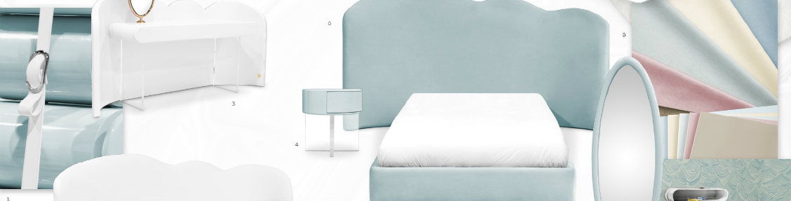 Kids' Bedroom Ideas: How To Use And Combine Baby Blue