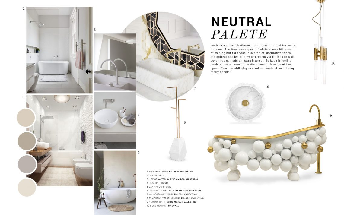 Neutral Palettes: The Design Trend Your Bathroom Needs neutral palettes Neutral Palettes: The Design Trend Your Bathroom Needs neutral palettes design trend bathroom needs 1 scaled