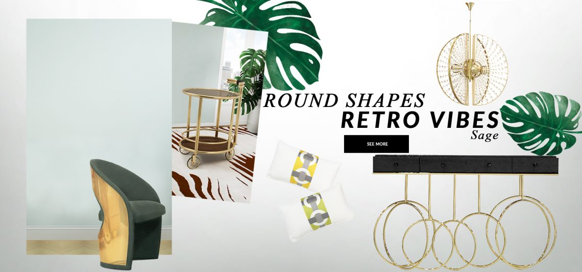 rounded shapes Bring Retro Vibes Into Your Home Decor With Rounded Shapes bring retro vibes home decor rounded shapes 1 scaled