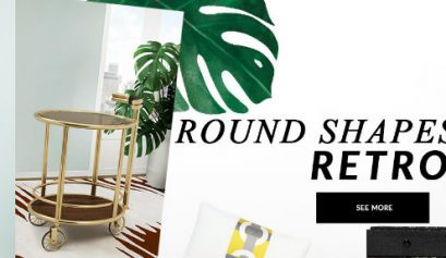 rounded shapes Bring Retro Vibes Into Your Home Decor With Rounded Shapes bring retro vibes home decor rounded shapes 409x237