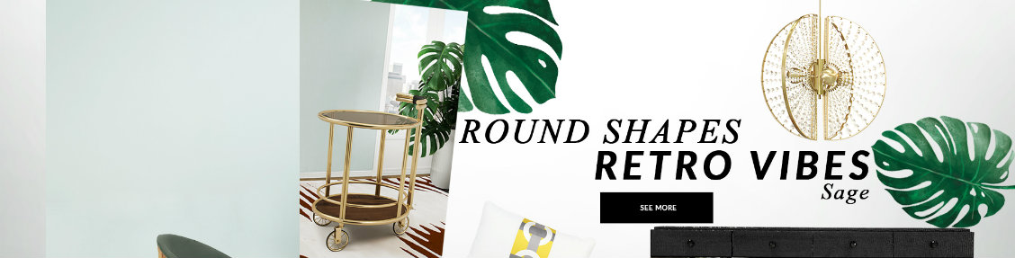 rounded shapes Bring Retro Vibes Into Your Home Decor With Rounded Shapes bring retro vibes home decor rounded shapes
