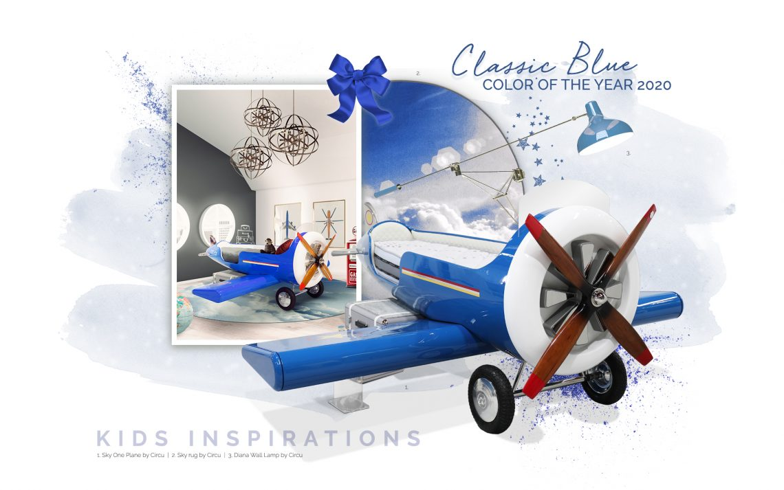 Introduce Classic Blue Into Your Kid's Bedroom  classic blue Introduce Classic Blue Into Your Kids' Bedroom  introduce classic blue kids bedroom 1 scaled