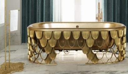 mixing metals Mixing Metals: The Design Trend Your Bathroom Needs mixing metals design trend bathroom needs 409x237