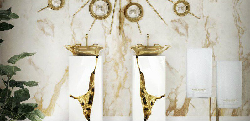 mixing metals Mixing Metals: The Design Trend Your Bathroom Needs mixing metals design trend bathroom needs 6
