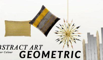 abstract art geometric How To Introduce Abstract Art Geometric Into Your Home Decor introduce abstract art geometric home decor 409x237