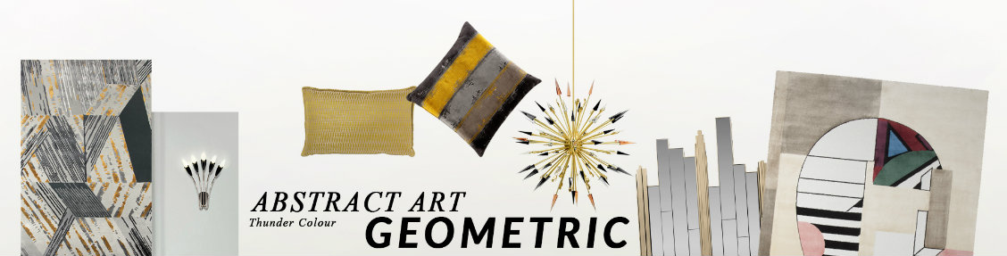 How To Introduce Abstract Art Geometric Into Your Home Decor