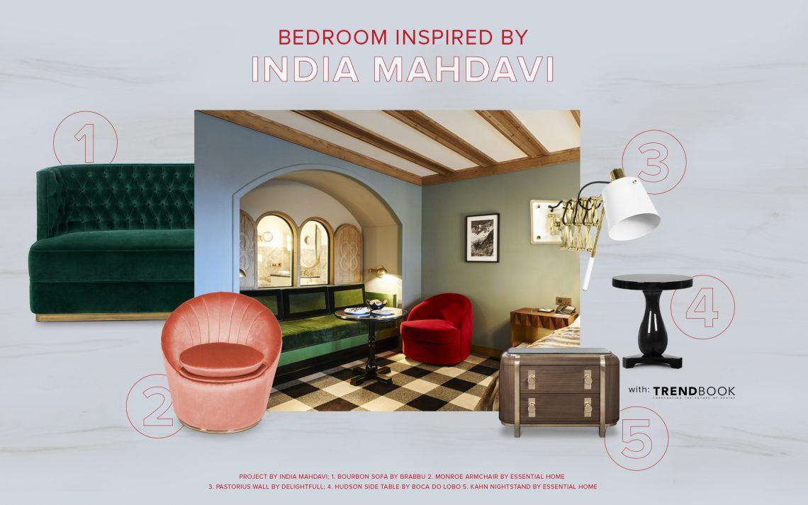 Admire This Bedroom Inspired By India Mahdavi's Style india mahdavi Admire This Bedroom Inspired By India Mahdavi's Style admire bedroom inspired india mahdavis style 1 scaled