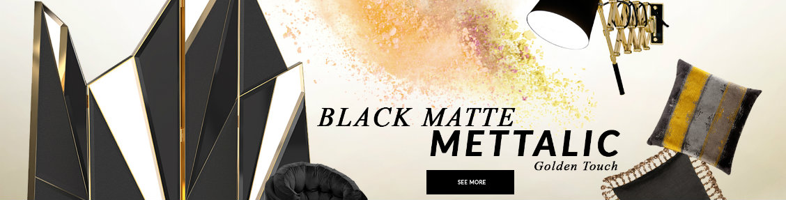 black matte mettalic Design Trends 2020: Black Matte Mettalic With A Golden Touch  design trends 2020 black matte mettalic golden touch