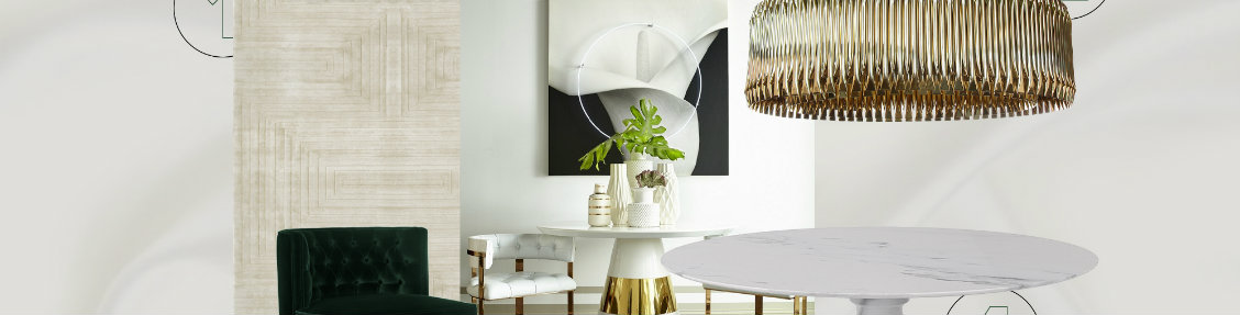 Dining Room Inspired By Kelly Hoppen's Style