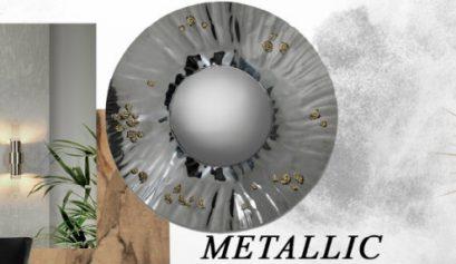 metallics Metallics: The 2020 Trend Your Wall Mirrors Need metallics 2020 trend wall mirrors need 409x237