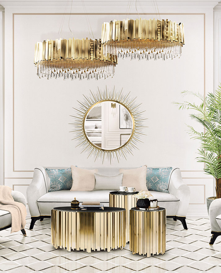metallics Metallics: The 2020 Trend Your Wall Mirrors Need metallics 2020 trend wall mirrors need 6