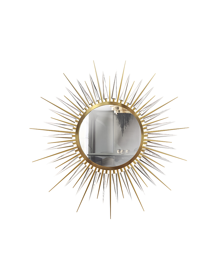 metallics Metallics: The 2020 Trend Your Wall Mirrors Need metallics 2020 trend wall mirrors need 7
