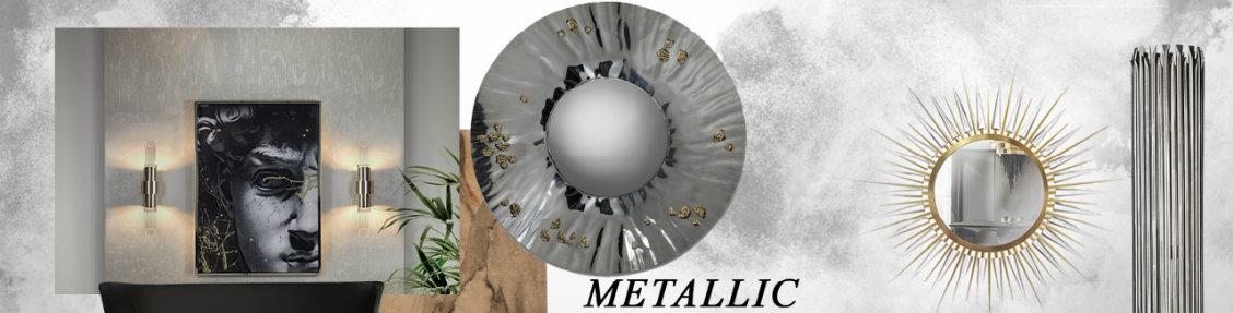 metallics Metallics: The 2020 Trend Your Wall Mirrors Need metallics 2020 trend wall mirrors need