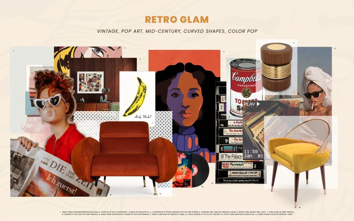 How To Add Retro Glam To Your Living Room retro glam How To Add Retro Glam To Your Living Room add retro glam living room 1 scaled