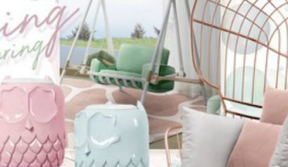 kids bedroom ideas Kids Bedroom Ideas: Get Ready For Spring With These Swing Chairs  kids bedroom ideas ready spring swing chairs 409x237