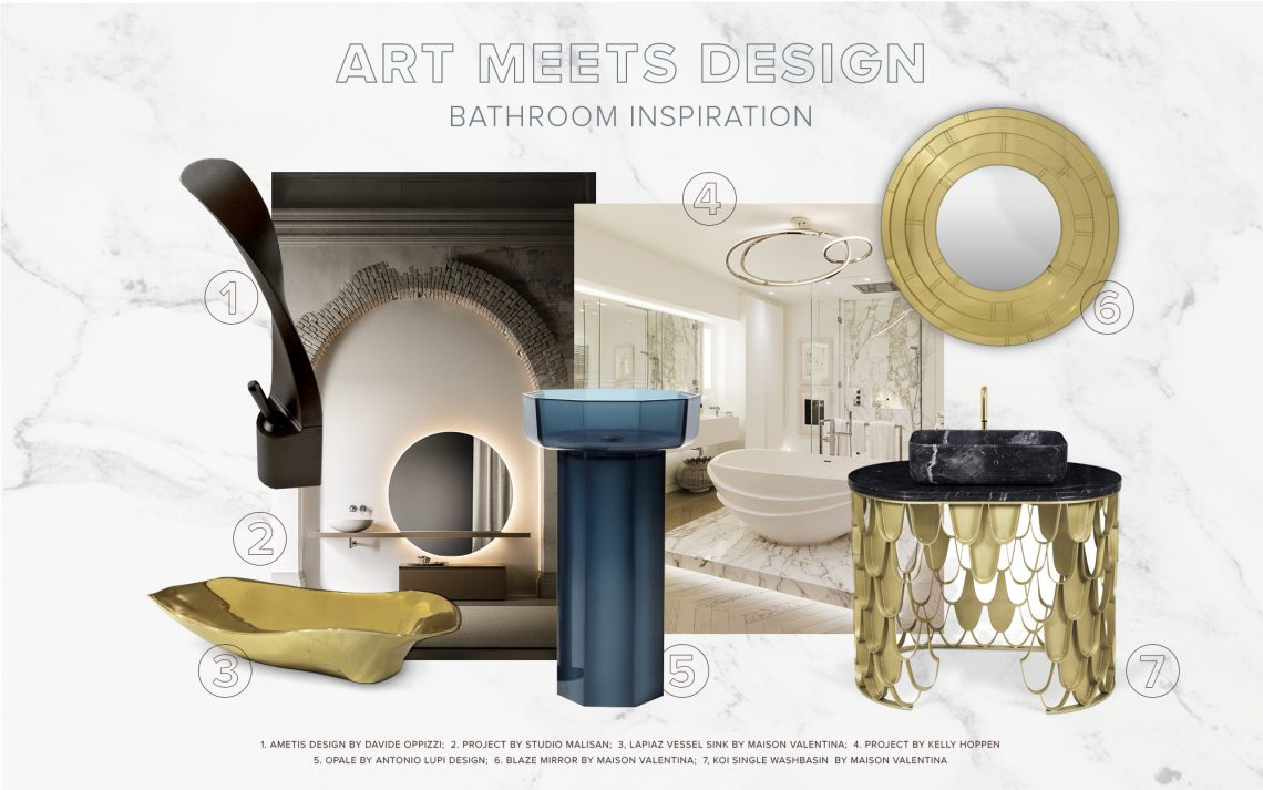 Bathroom Decor: When Art Meets Design bathroom decor Bathroom Decor: When Art Meets Design bathroom decor art meets design 1 scaled