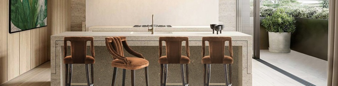 bar stool Discover Here How To Choose A Bar Stool For Your Kitchen discover choose bar stool kitchen 3 scaled 1