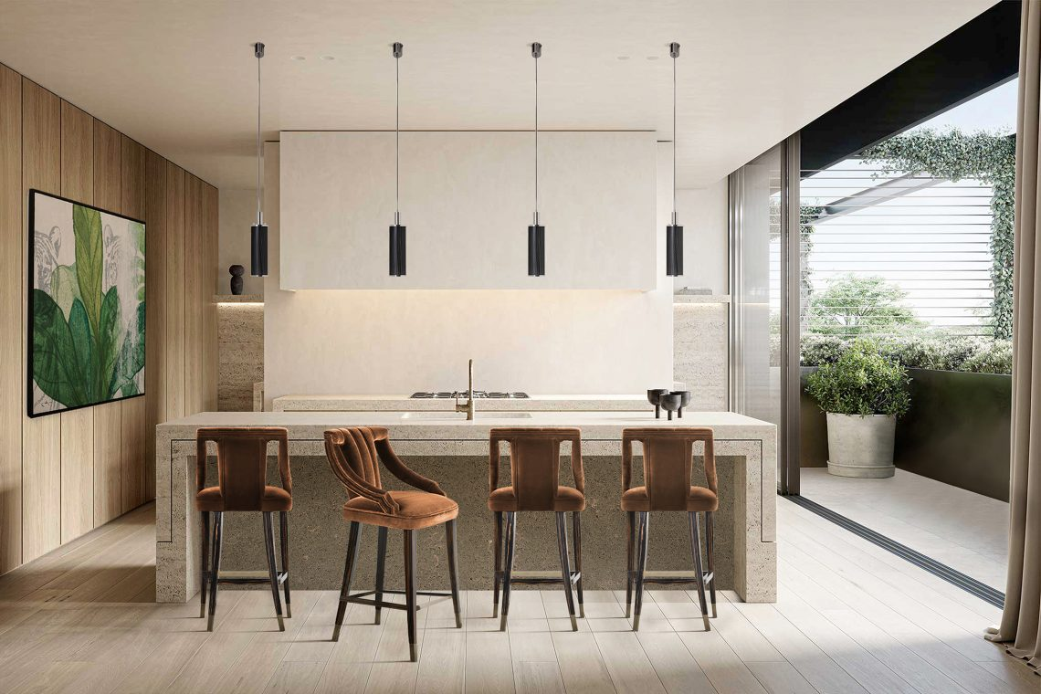 Discover Here How To Choose A Bar Stool For Your Kitchen bar stool Discover Here How To Choose A Bar Stool For Your Kitchen discover choose bar stool kitchen 3 scaled